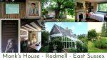 Photos of Virginia Wolf's house and gardens