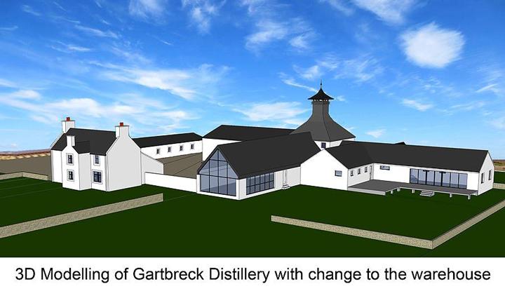 Gartbreck distillery model